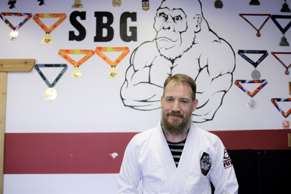 """""""Our main goal here at SBG Edmonton is to create a safe space to be vulnerable. A place where people can identify a dream and develop the tools to get after it. Whether we are in the gym or off the mats,we are a tribe."""" -Steve Winjet"""