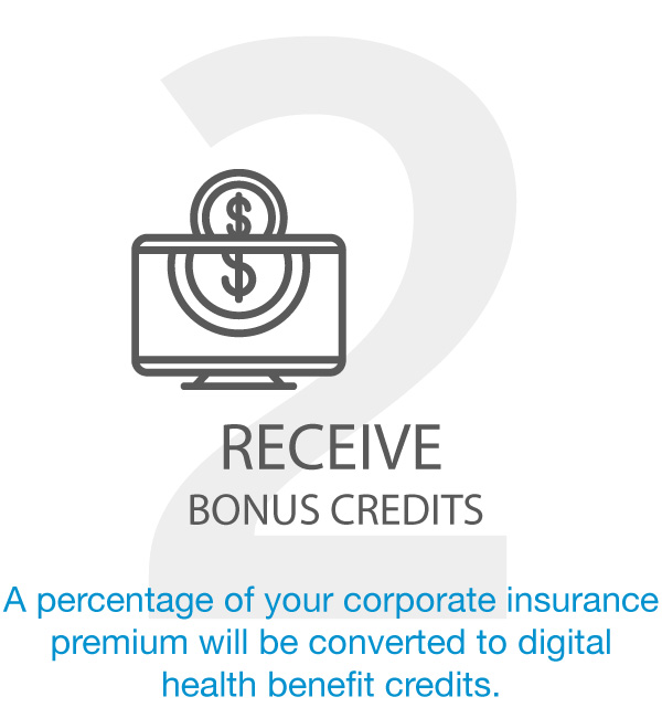 RECEIVE BONUS CREDITS
