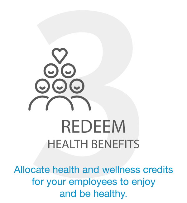 REDEEM HEALTH BENEFITS