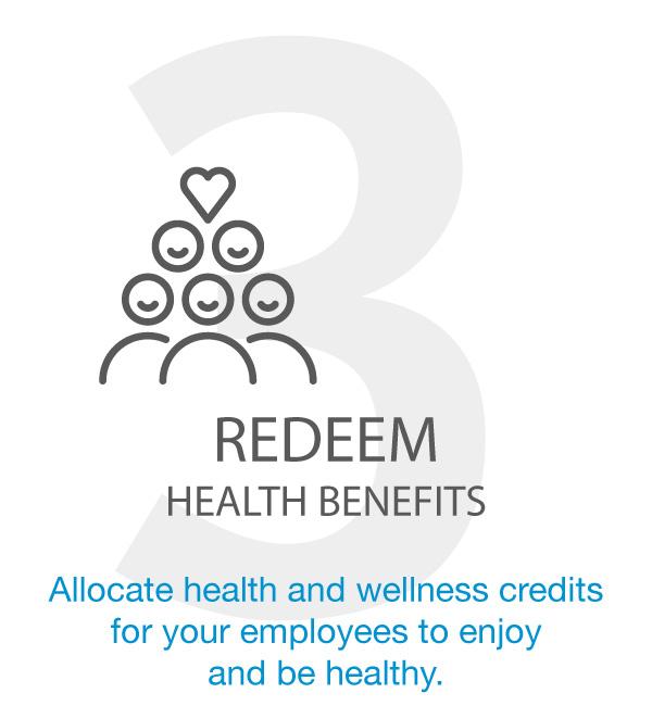 REDEEM HEALTH BENEFITS