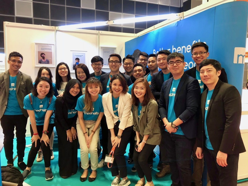 Mednefits Booth at HR Summit & Expo Asia 2018
