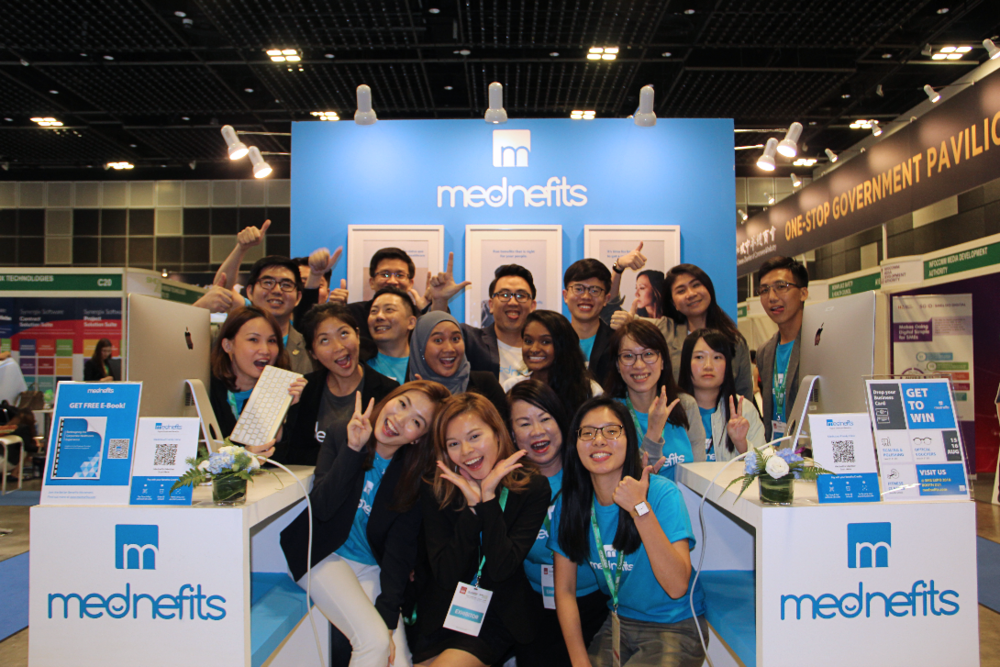 Our booth this year - check out our growing team!