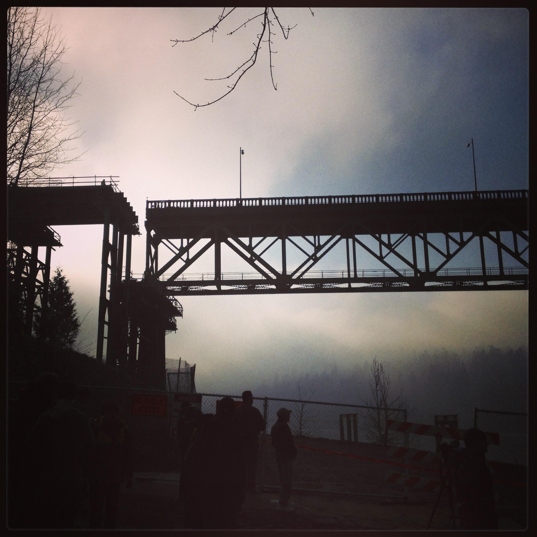 Ominous foggy morning...