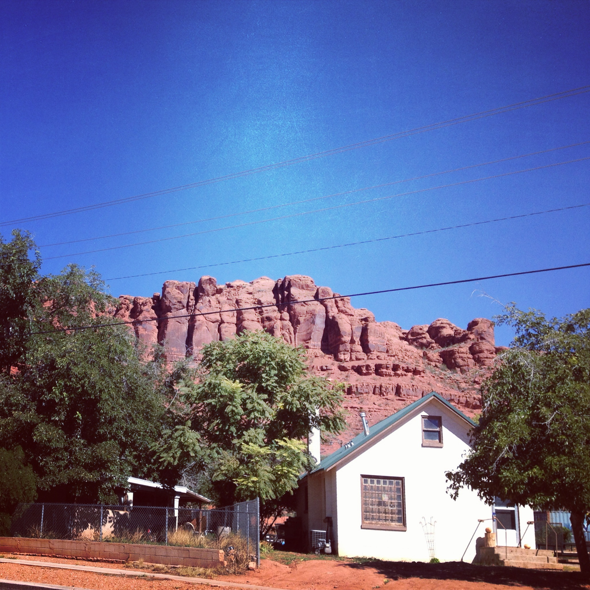 AMAZING red rock all around St George.