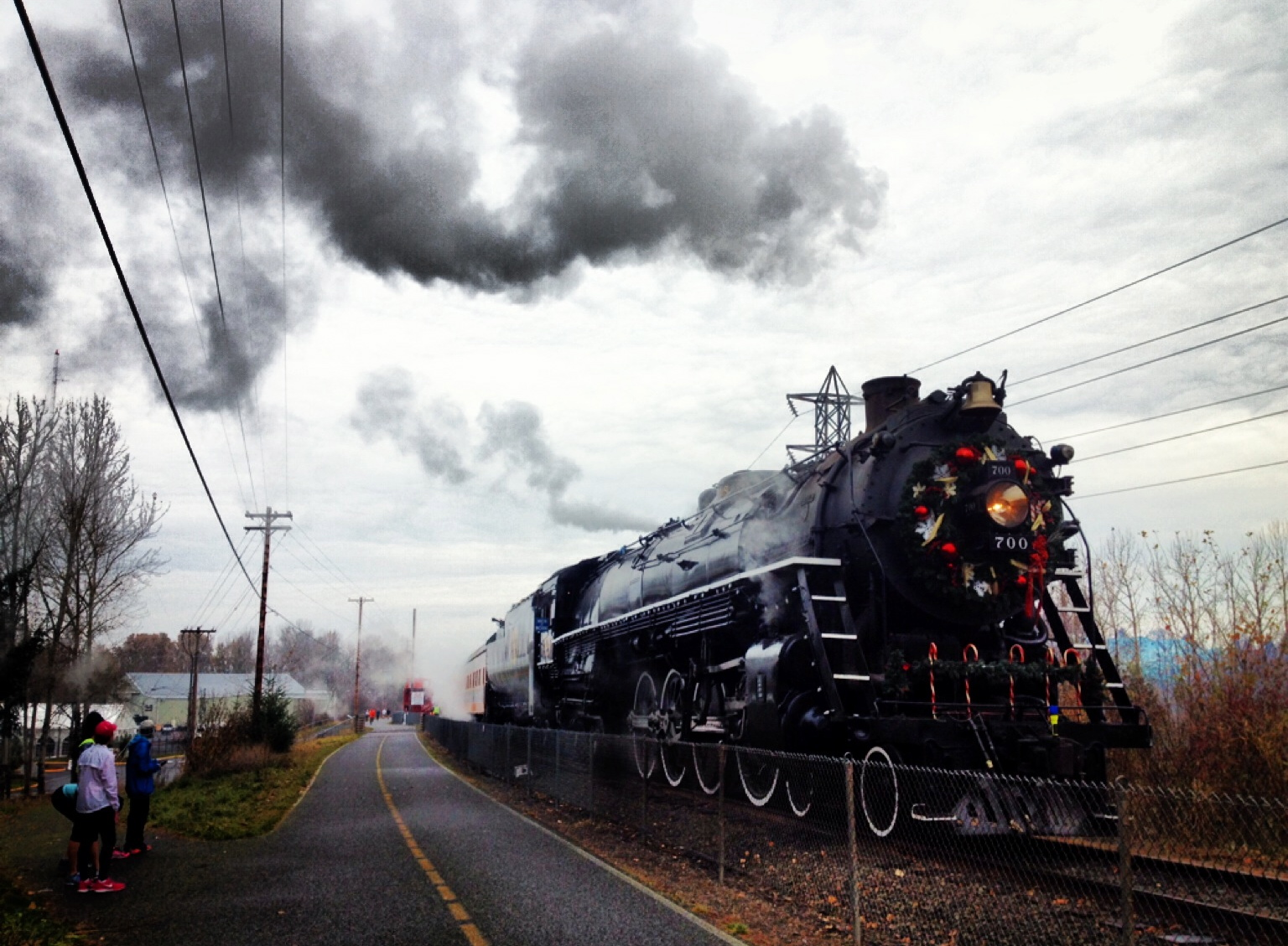 The Holiday Steam Engine