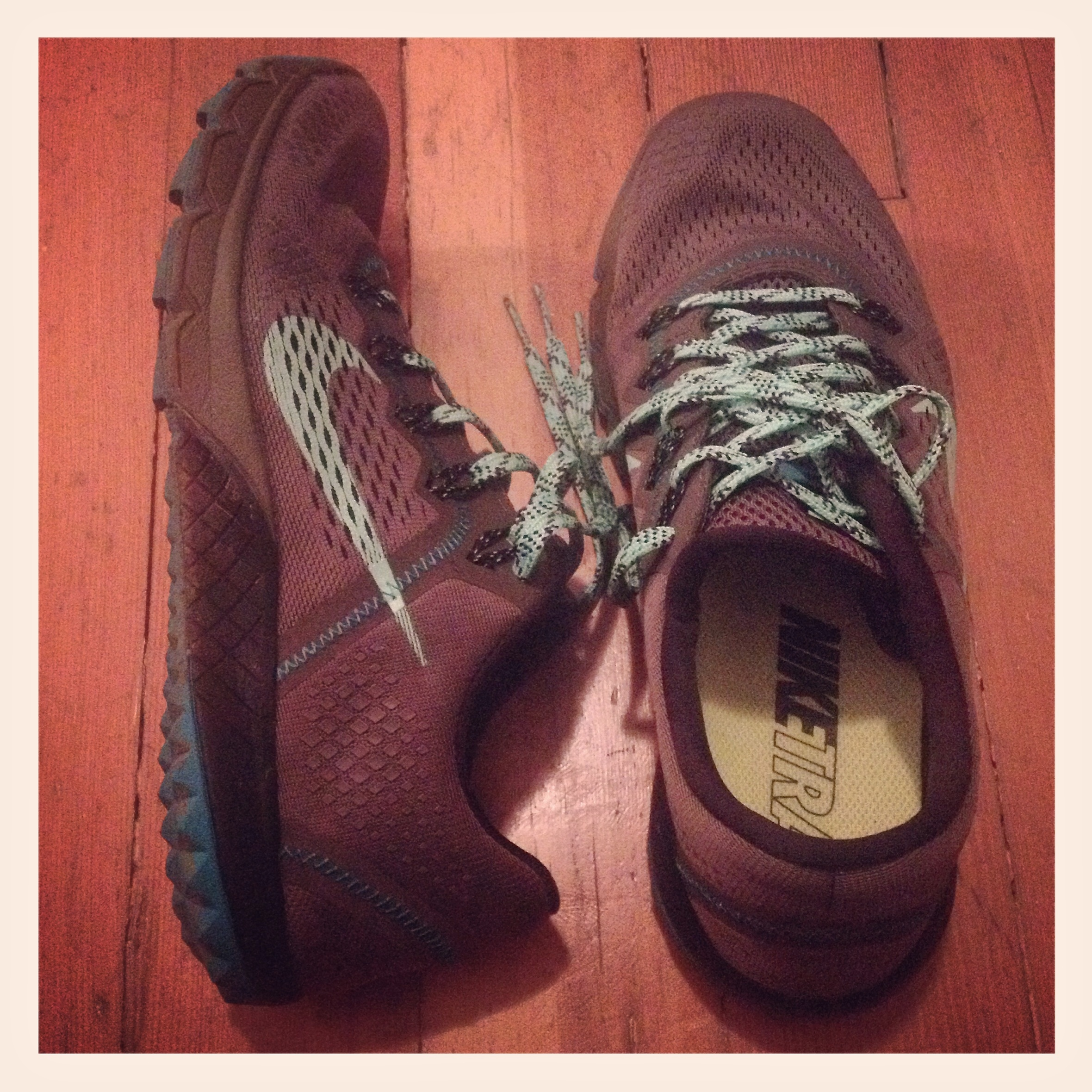 """Nike Zoom Terra Kiger - my first pair of """"real"""" trail shoes."""