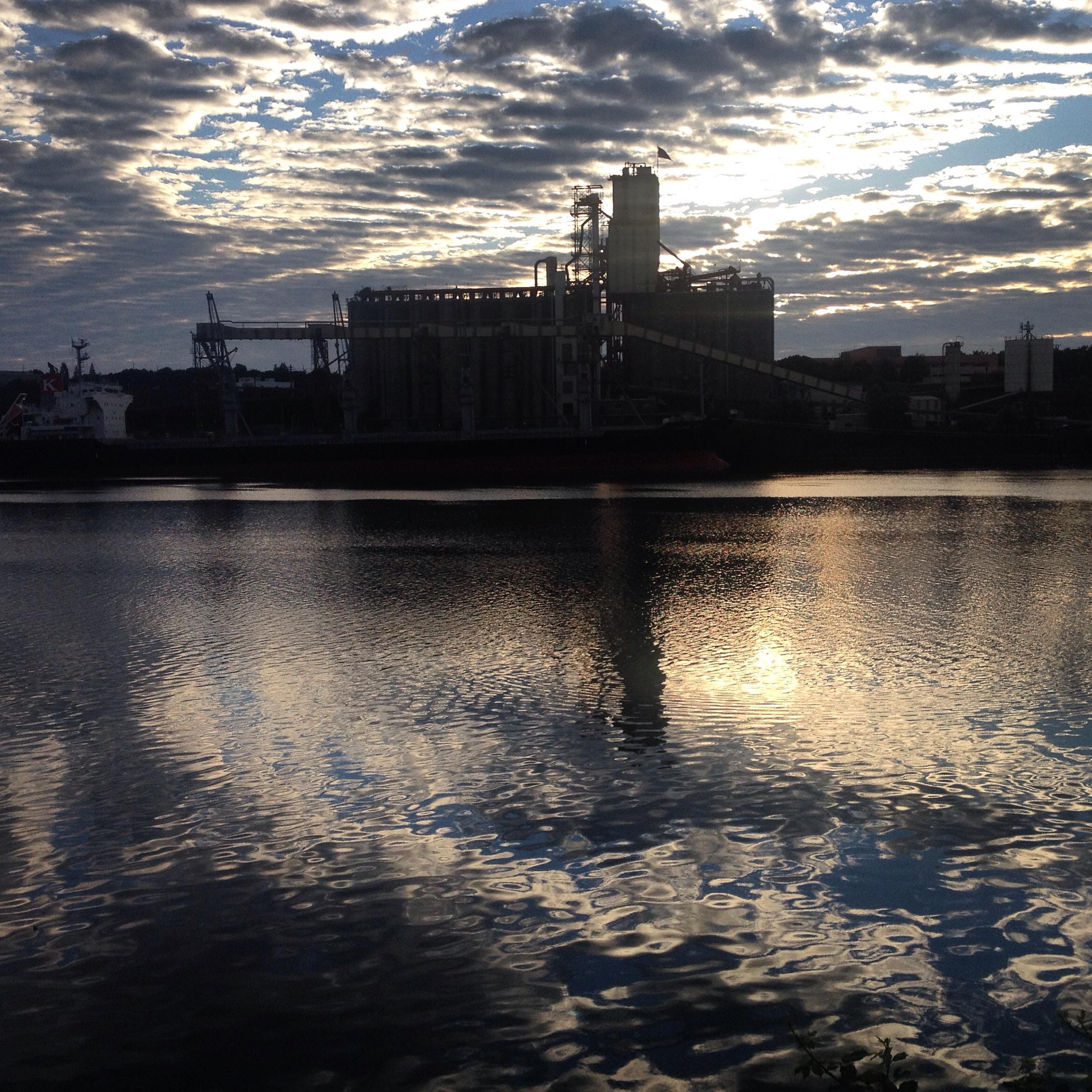 Grain Mill & Boat Waterfront 7/5/14