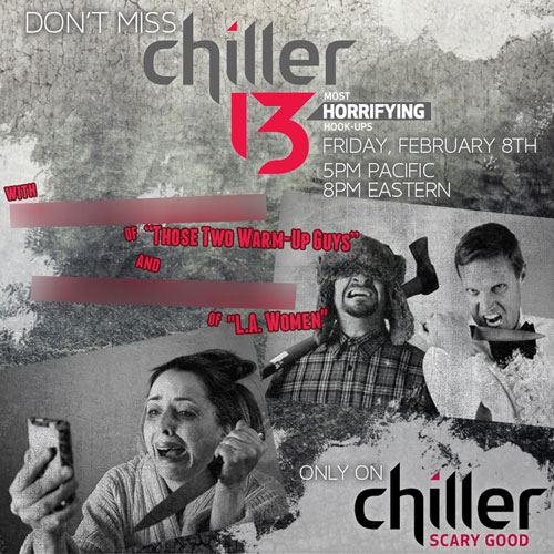 """Chillers 13,"" Digital Flyer"