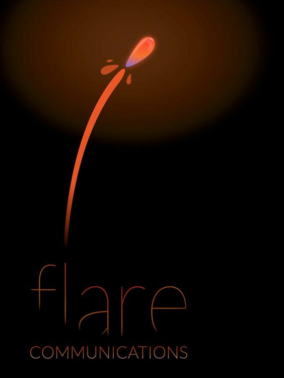 Flare Comm, Logo