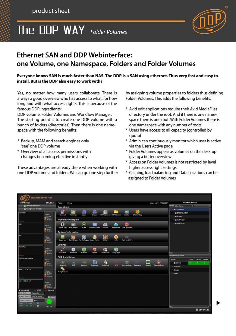 Folder Volumes