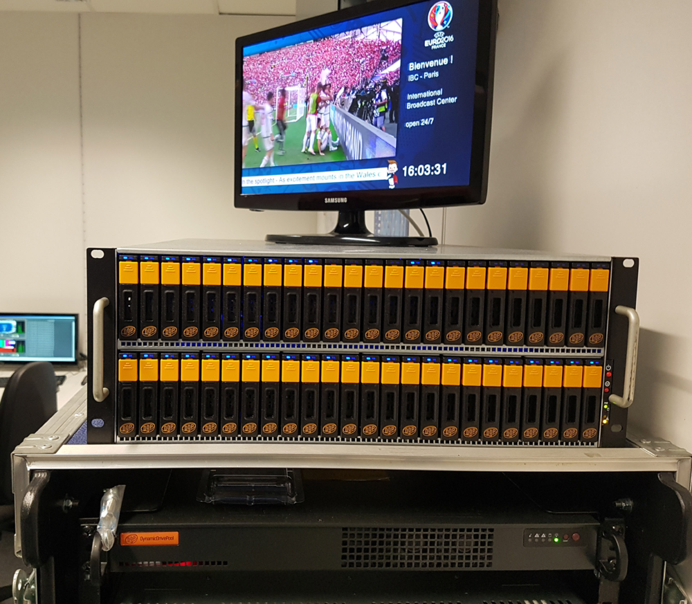 The microDDP (and miniDDP48) at the IBC in Paris at the UEFA Euro 2016