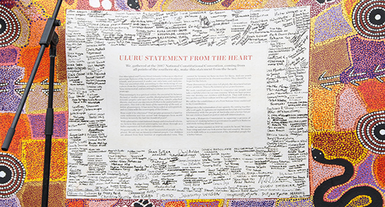 The RACGP endorsed the 'Uluru statement from the heart' during NAIDOC week.