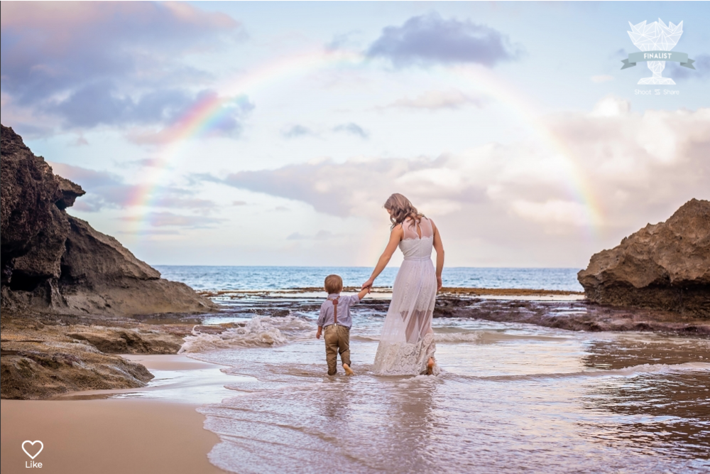 Finalist image of Julia and her son,  photographer of Julia Klink Photography