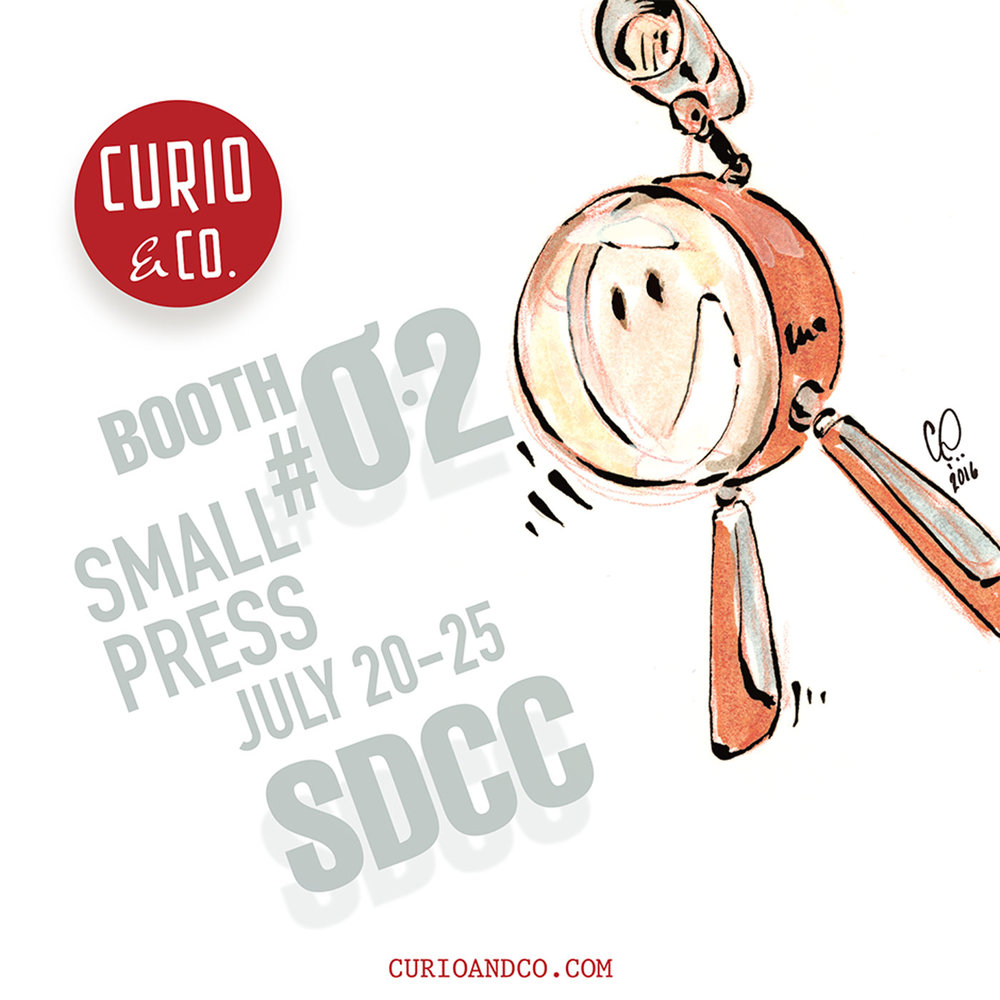 Curio & Co. attending San Diego Comic-Con 2016 (SDCC 2016)