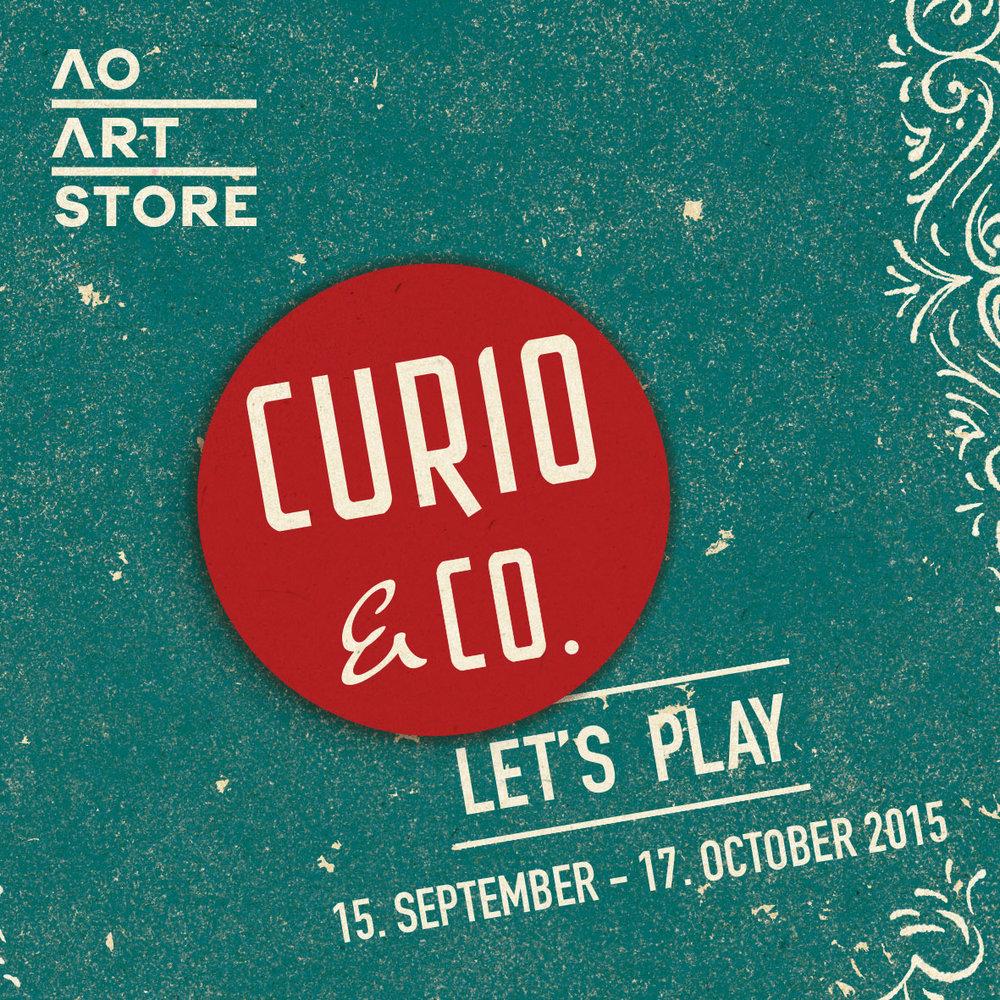Curio & Co. - retrospective exhibition at Atelier Olschinsky Art Store