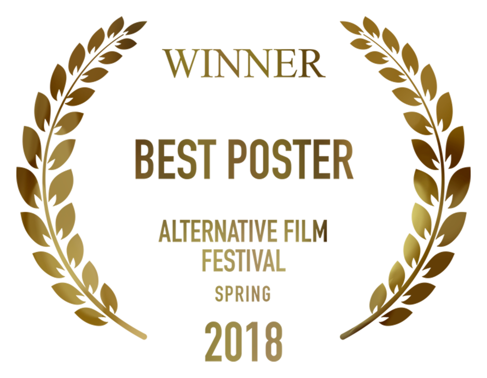 Fragments Winner Best Poster Alternative Film Festival design by Cesare Asaro 2018