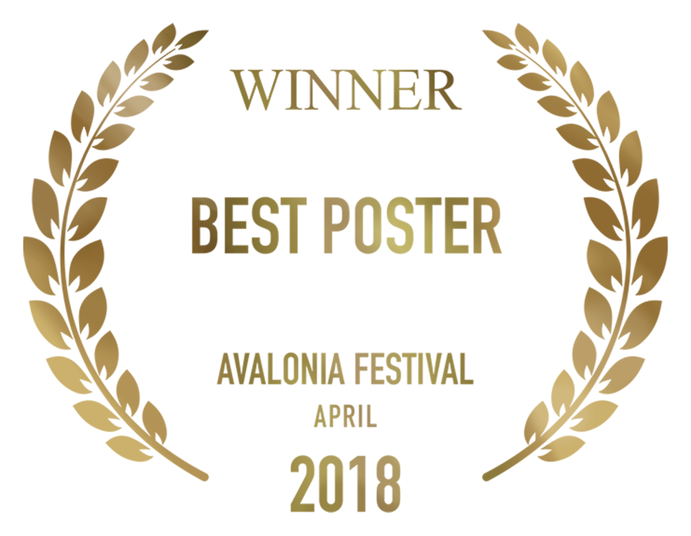 Fragments Winner Best Poster Avalonia Festival design by Cesare Asaro 2018