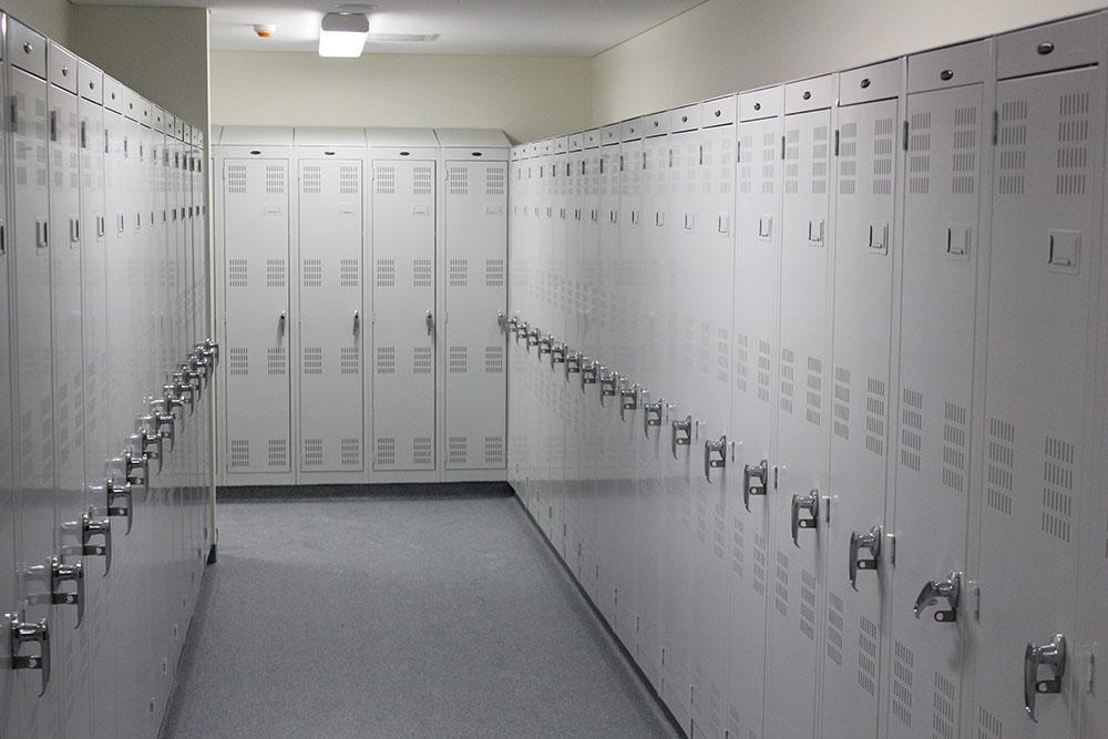 Police Clothing Lockers