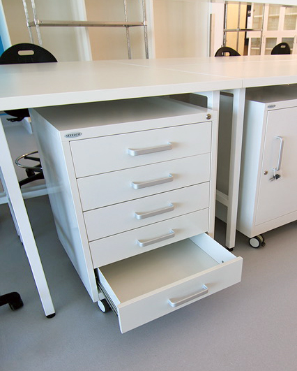 Cabinets with D - shaped handles