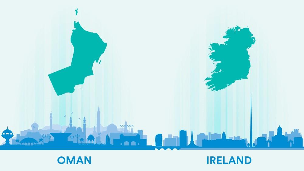 Oman Ireland.
