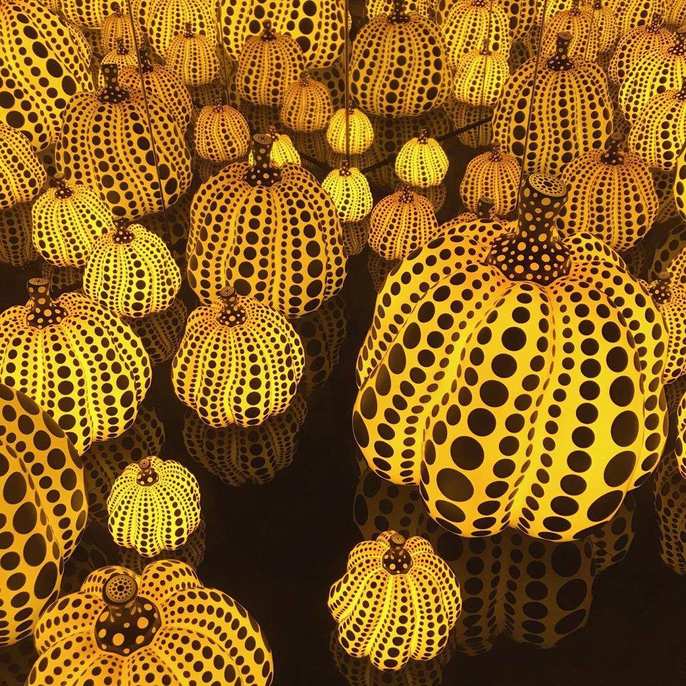 Kusama Pumpkins