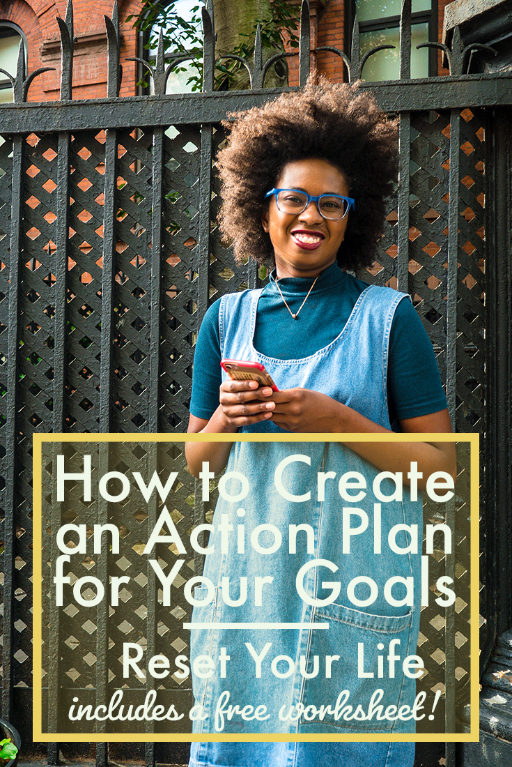 Create an Action Plan for Goals