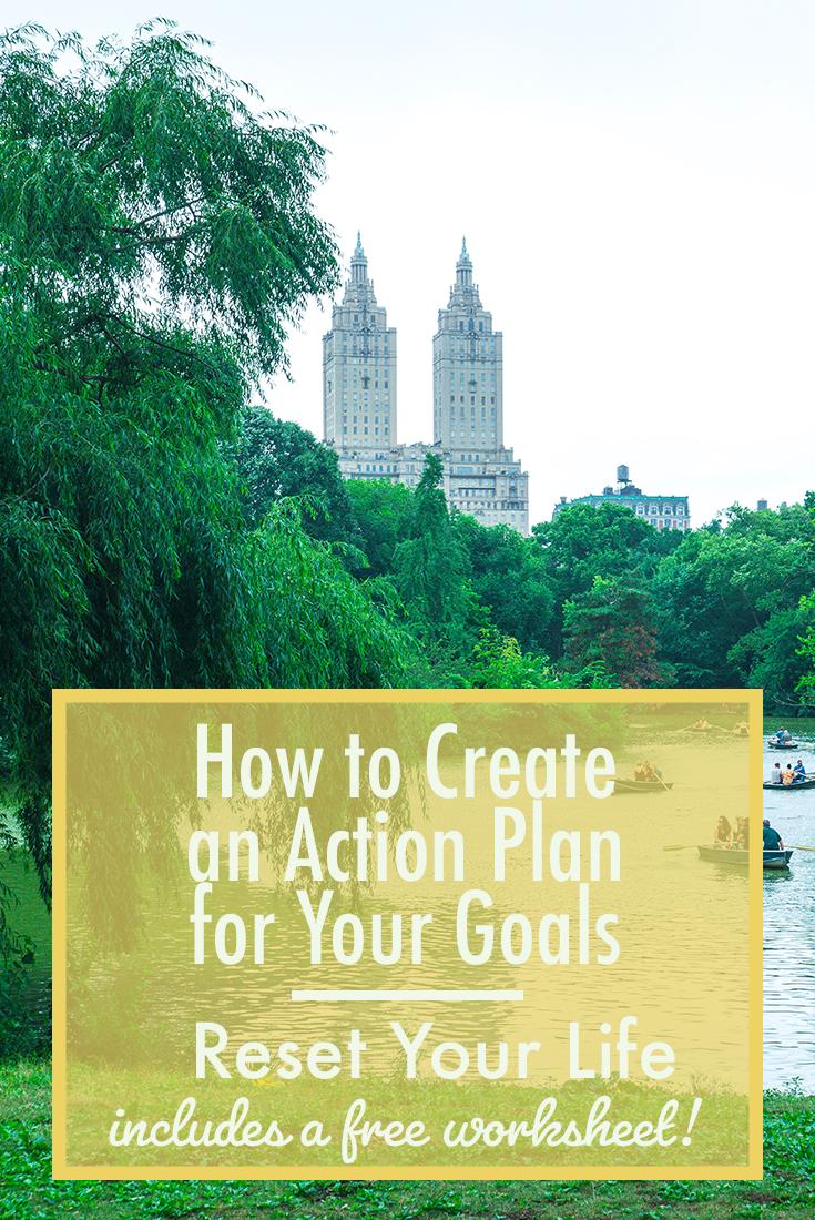 Create an Action Plan 2
