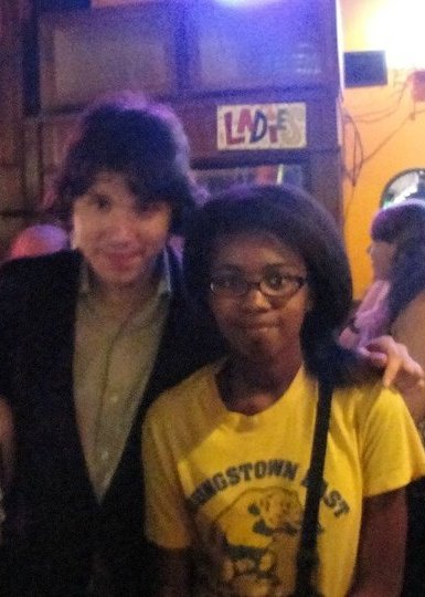 Pop Punk Brat.  My mom drove me and a friend all the way to Little Rock from Dallas during Fourth of July weekend in 2010 so that I could meet my musical idol and crush, Ryan Ross, former guitarist of Panic at the Disco.