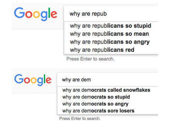 Bad Google Search Result