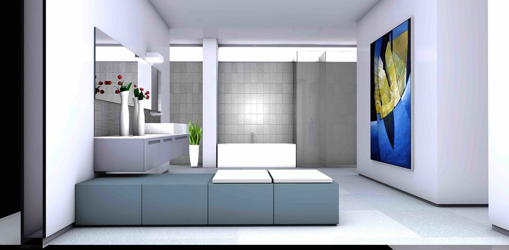 interior design: texturing & rendering