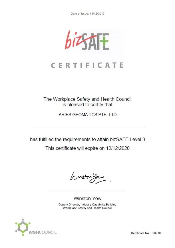 Aries Geomatics bizSAFE certificate.jpg