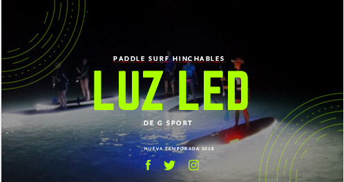 Paddle Surf Led