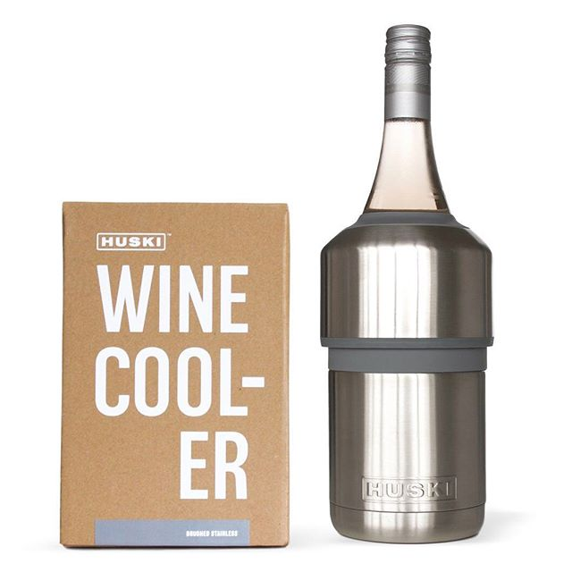 The Huski Wine Cooler is now on sale! Packaging designed in collaboration with @blenderdesign and @think_packaging  Get that wine cooling @huskicooler 🥂