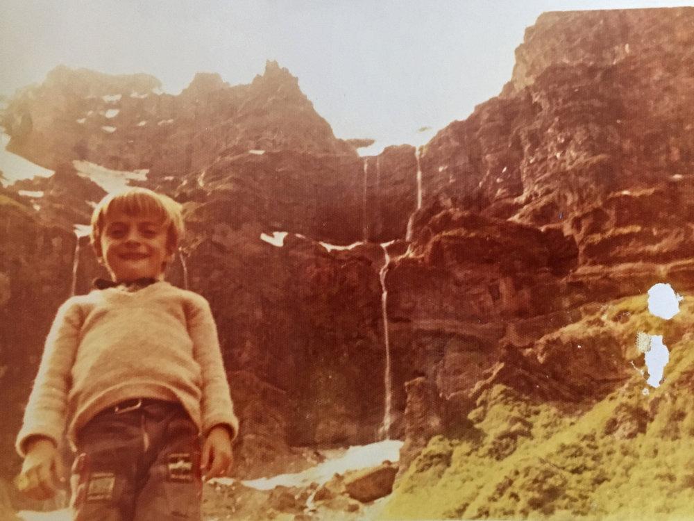 Edgar, Patagonie 1975