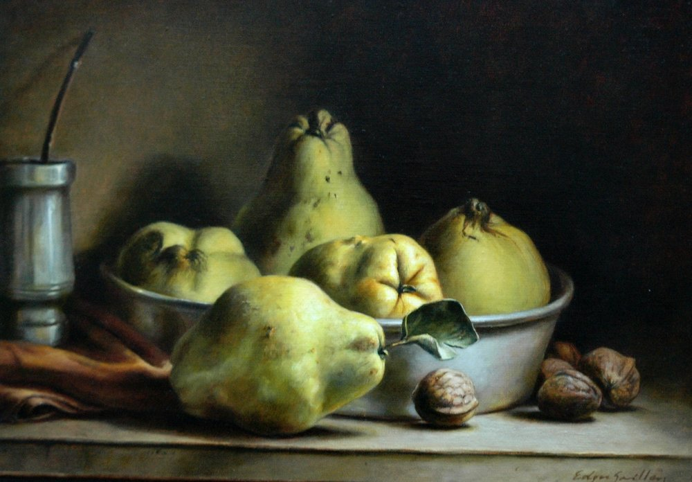"""Nature morte au Maté"" 1999, Edgar Saillen"