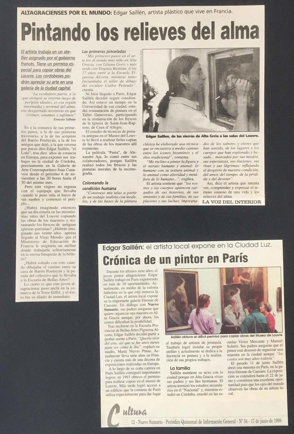 LA VOZ DEL INTERIOR 1998