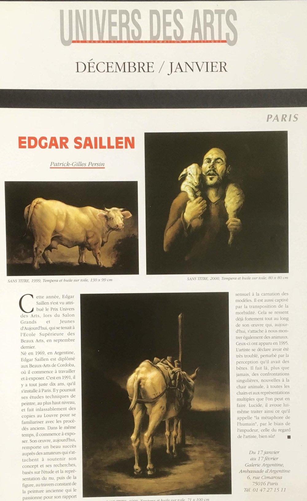 UNIVERS DES ARTS 2002