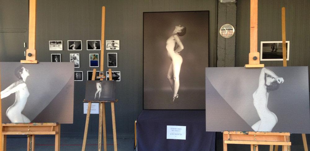 Vue de l'exposition de Mael Coillard 2016
