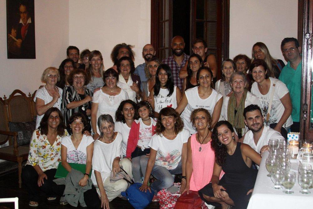 Grupo de Meditacion y Creatividad, Villa Roma, Alta Gracia, Febrero 2017.