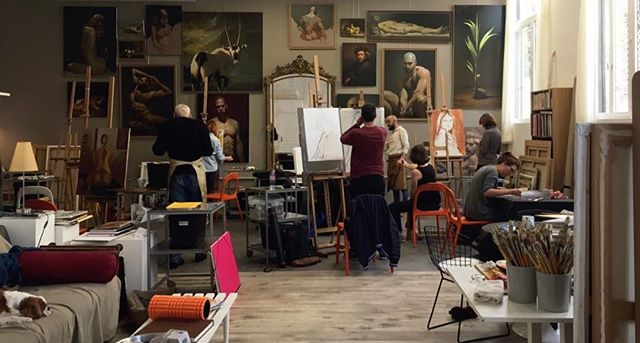 Welcome to my Paris Painting Class #artwork #artclass #artworkshop #paintingclass #paintingacademy #paintings #contemporaryart #artinparis