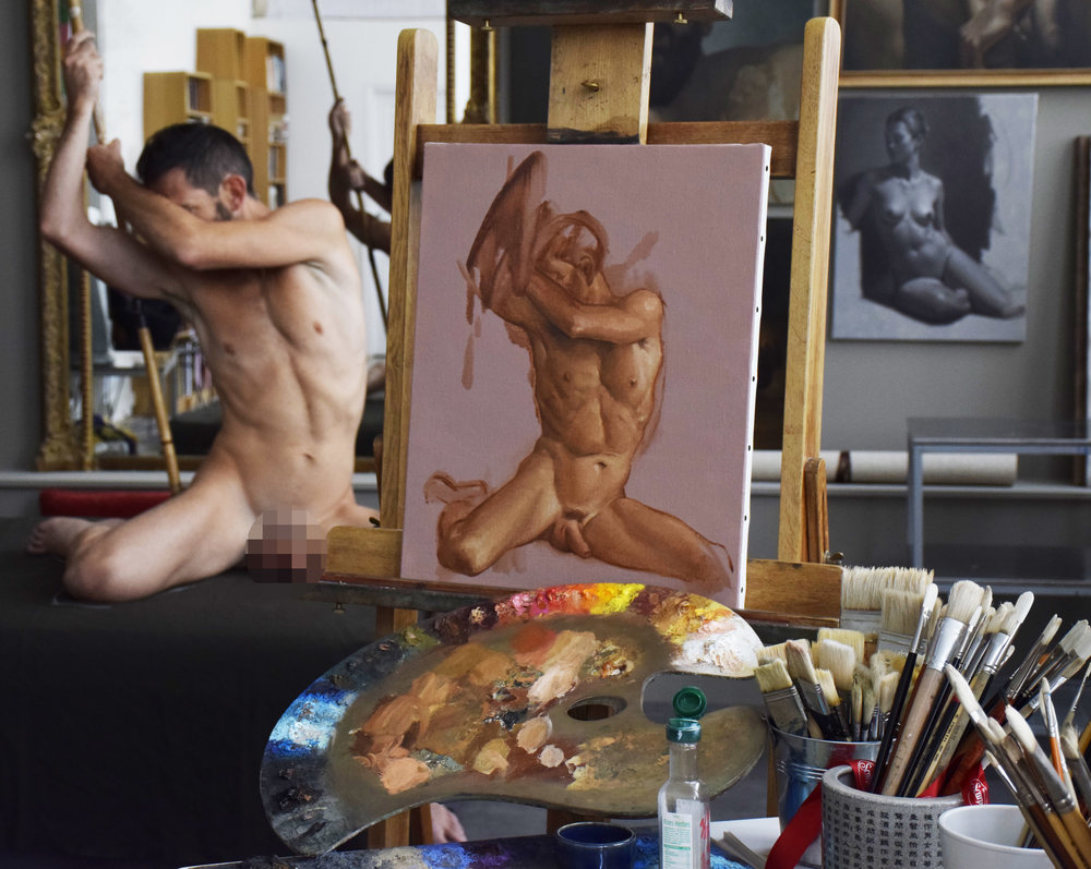 paris-art-class-live-model-studio-workshop