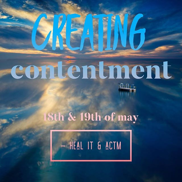 Creating Contentment a 2 day intensive NLP module!  Ran by @ACTM and presented by Quentin Strauli and will be hosted by @cogra_point_retreat we can't wait!