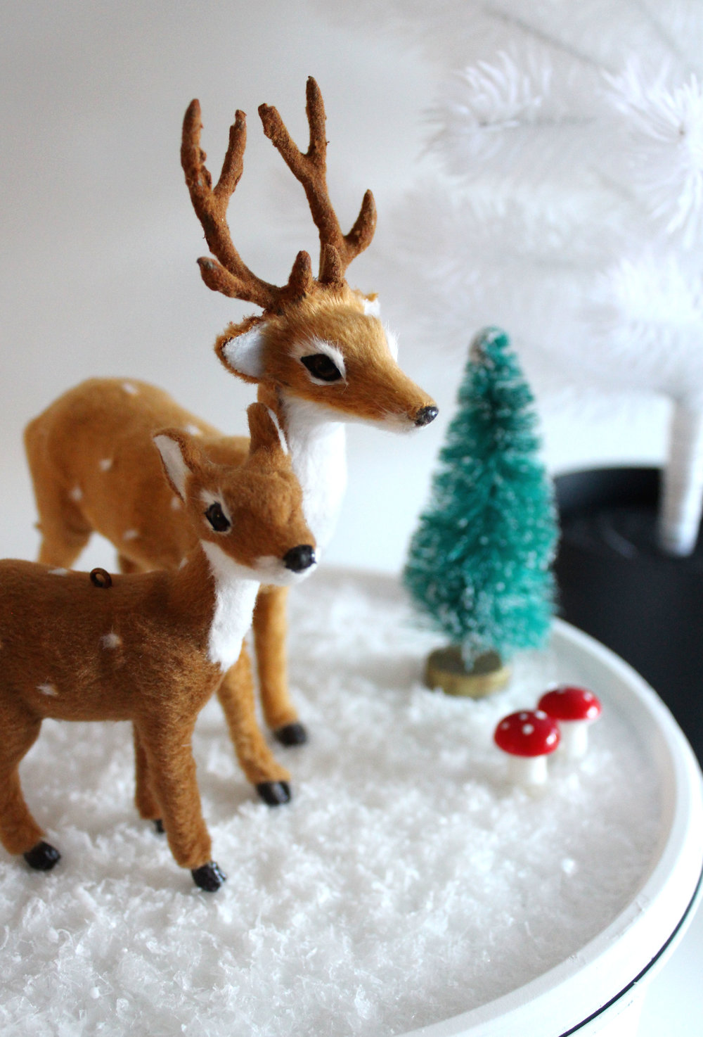 How to make a winter scene DIY
