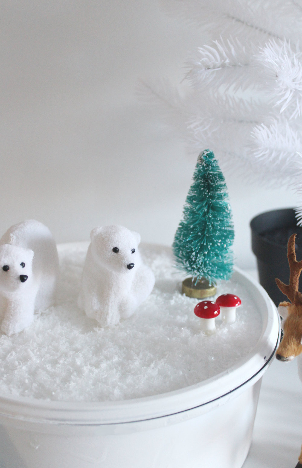 How to make a winter scene craft