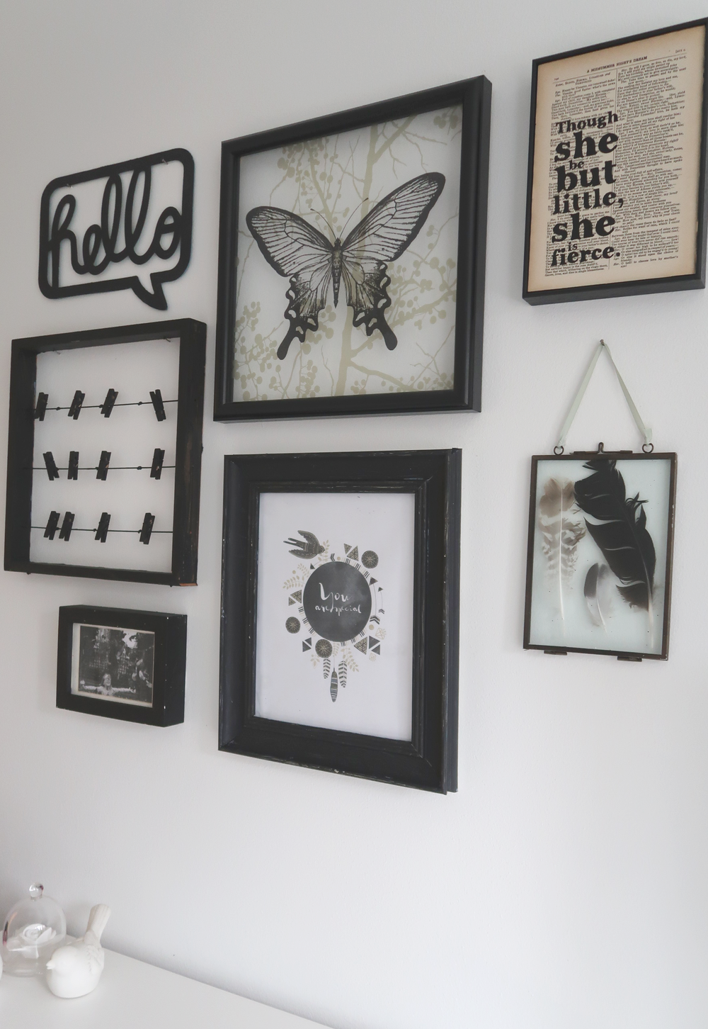create a wall display