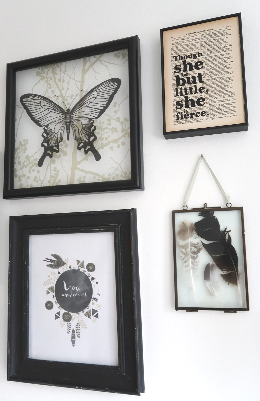 photo display wall