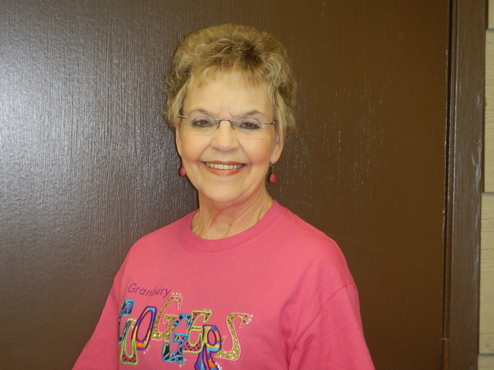 Fern Bailey - My life as a Granbury Clogger - I have been clogging for 13 years. I took up clogging to become a better dancer, to meet new people, and for great exercise. My favorite songs to dance to are Amazing Grace and Old Time Rock & Roll.