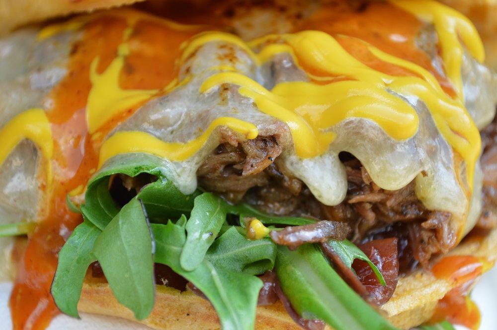 Tigelle Potato Bread Sandwiches Photo by Deborah Ajia