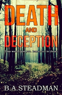 Detective Inspector Dan Hellier returns home to Exeter under a cloud. The body of a talented young singer is found in the woods. Hellier needs to redeem himself and solve the murder. What links her death to the boss of a recording studio, a Latvian gang and a school music teacher? Before the body count rises Hellier will need to untangle the web of Death and Deception. And the clock is ticking … This is the first Detective Dan Hellier novel.