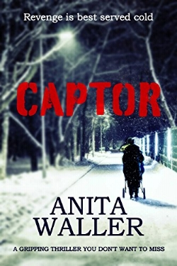 Are you looking for an unputdownable psychological thriller? If so, you'll love Captor by number 1 best-selling author Anita Waller.   Liz Chambers is a devoted mother who works for a successful law firm. She has two children, a husband and a blossoming career. But behind closed doors, Liz is harbouring a secret that could destroy her life.  Then the unthinkable happens, and in a frenzied attack, her young son is snatched from the home of the childminder charged with looking after him.  As Liz's life unfolds, it becomes clear that someone is out for revenge.  Desperate to get her baby boy back, Liz must work out who is responsible for his kidnap, and why.  But as the body count begins to mount, Liz's concern grows for the safety of her child.   Who has taken her baby?   And why is Captor so determined on revenge?